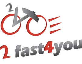 #11 para Design a Logo for my bike Brand 2Fast4You por lilybak