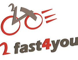 #12 para Design a Logo for my bike Brand 2Fast4You por lilybak