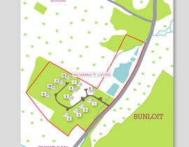 Corelhost tarafından Illustrate our lodge park site map için no 30
