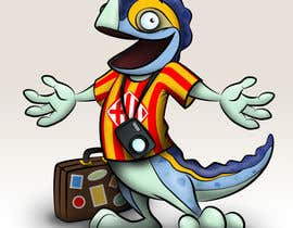 #46 for Barcelona Trip Website Logo with a Character Mascot (read carefully my requirements) af peshan