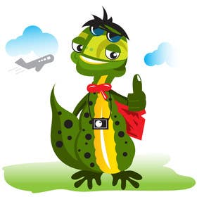 #58 for Barcelona Trip Website Logo with a Character Mascot (read carefully my requirements) by WEDOMS