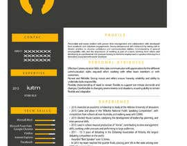 jhosser tarafından Create as many unique Resume templates as you can in a week -- 1 için no 28