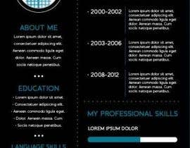 jhosser tarafından Create as many unique Resume templates as you can in a week -- 1 için no 42