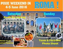 biplob36 tarafından Design a Flyer for a company event in Rome için no 29