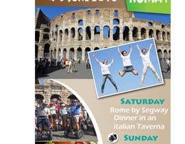 biplob36 tarafından Design a Flyer for a company event in Rome için no 30