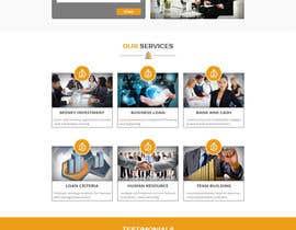 Nro 14 kilpailuun Design a New Website Mockup käyttäjältä husainmill
