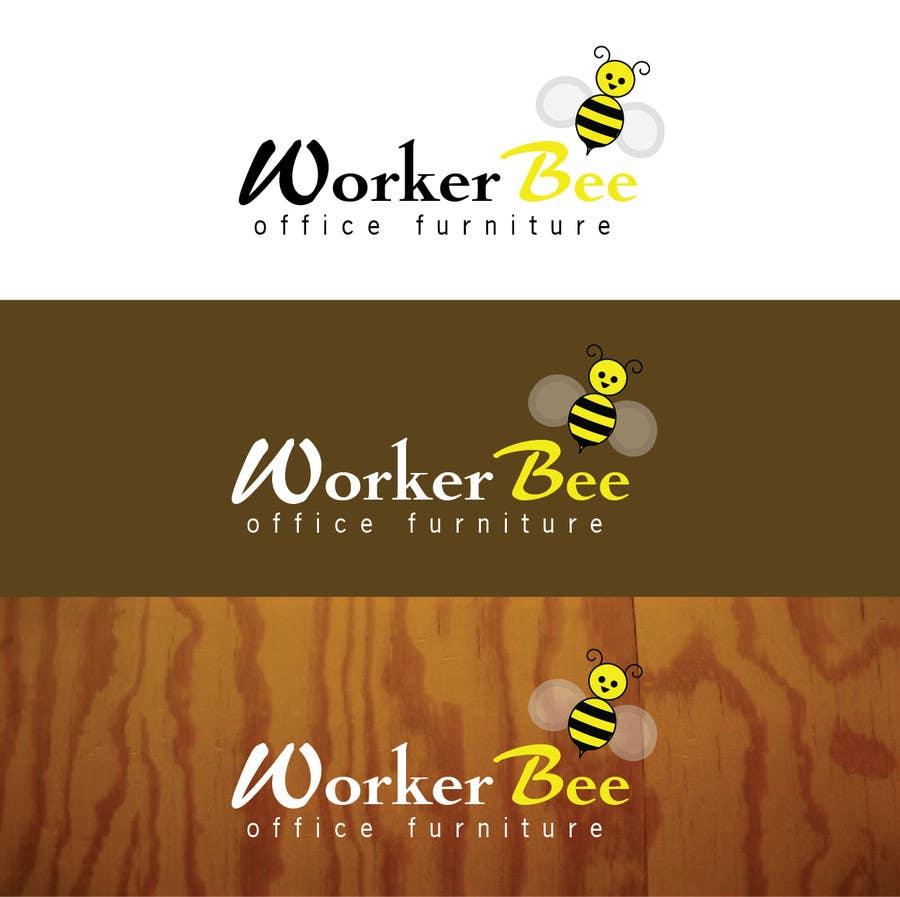 Konkurrenceindlæg #14 for Design a Logo for Workerbeeofficefurniture.com