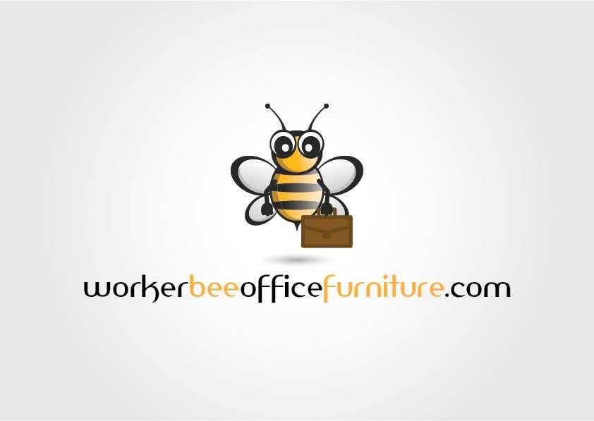 Konkurrenceindlæg #21 for Design a Logo for Workerbeeofficefurniture.com