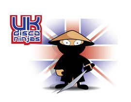 #5 para Design a Logo for UK Disco Ninjas clan por rolandhuse