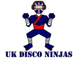#11 para Design a Logo for UK Disco Ninjas clan por jerwinlopez