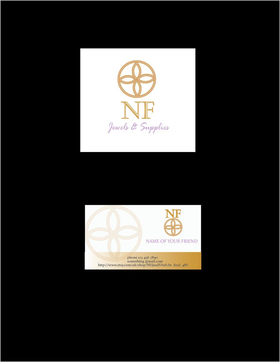 #37 for Design a Logo, banner and business card design for handmade jewelry company by Loresita