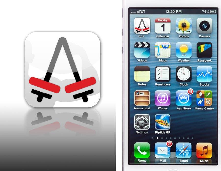 Bài tham dự cuộc thi #112 cho Design an App Icon for a Gym App