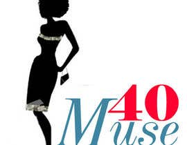 #24 para Logo Design for 40muse.com,a digital publication for black women ages 40+ por fashioninsider