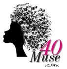 Logo Design for 40muse.com,a digital publication for black women ages 40+ için Graphic Design19 No.lu Yarışma Girdisi