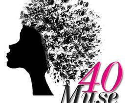 #19 para Logo Design for 40muse.com,a digital publication for black women ages 40+ por fashioninsider