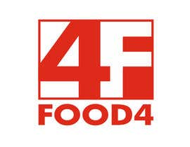 #170 untuk Logo Design for Food4 oleh whitmoredesign