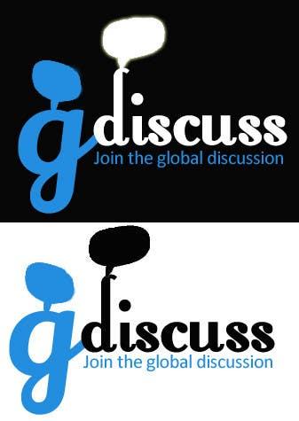 #34 for Design a Logo for gdiscuss.com by kkhurram