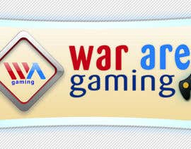 nº 44 pour Design a Logo for War-arena Gaming par GamingLogos