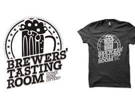 #7 para Design a Logo/T-Shirt for Brewers' Tasting Room por haniputra