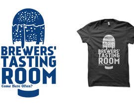 #8 para Design a Logo/T-Shirt for Brewers' Tasting Room por haniputra