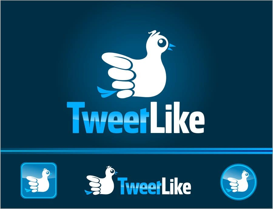 """#155 for Design a Logo for 'TweetLike"""" by arteq04"""