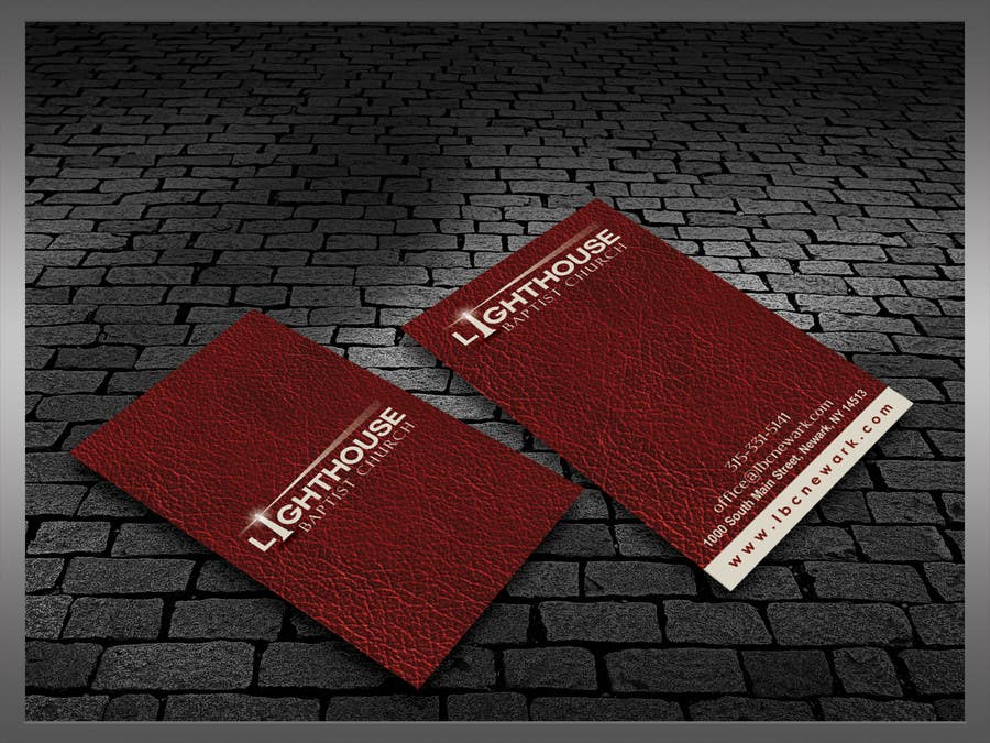 Penyertaan Peraduan #24 untuk Design some Business Cards for a Church