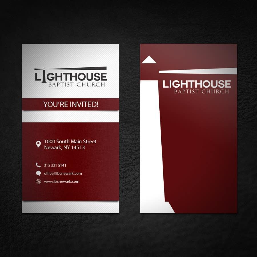 Penyertaan Peraduan #37 untuk Design some Business Cards for a Church