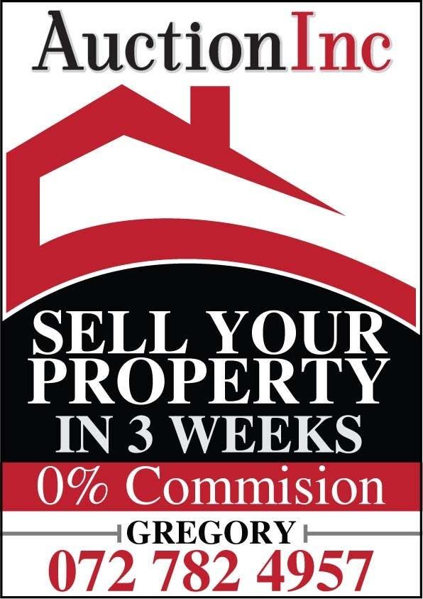 Inscrição nº 119 do Concurso para Design an Advertisement for Auction Company