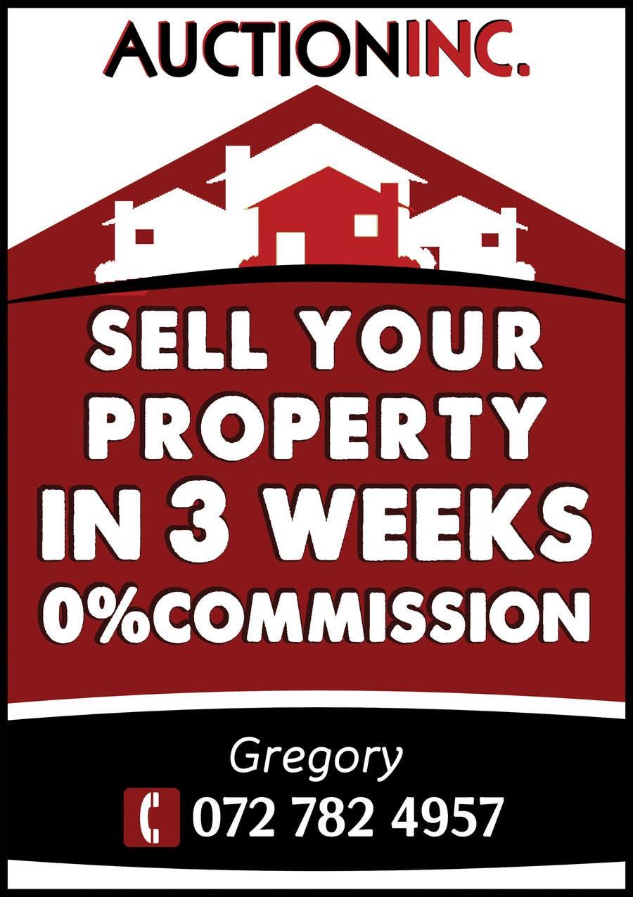 Inscrição nº 73 do Concurso para Design an Advertisement for Auction Company