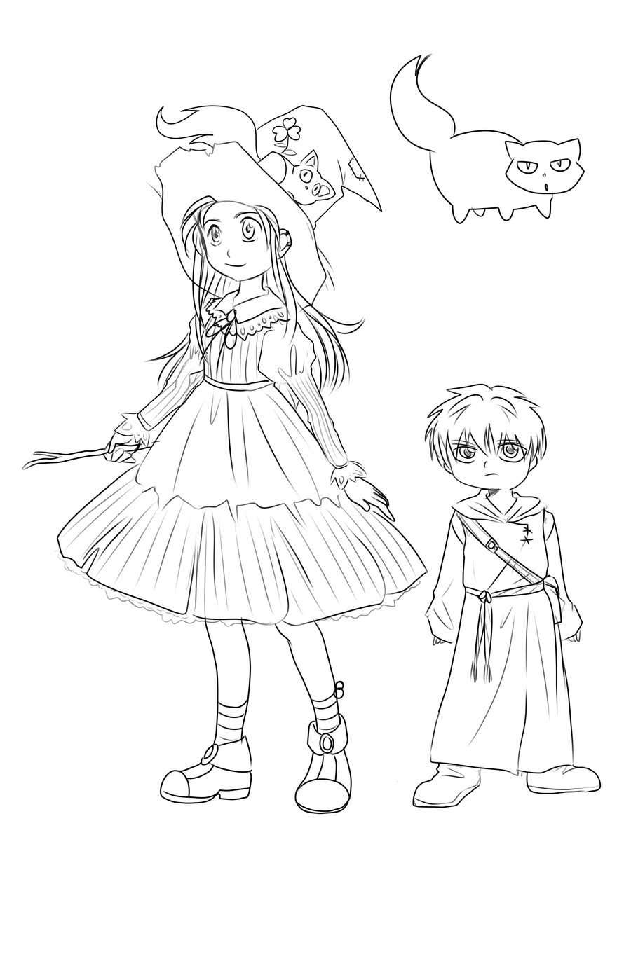 Proposition n°37 du concours Character Pencil Sketches