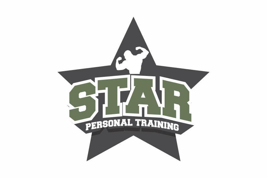 Bài tham dự cuộc thi #247 cho STAR PERSONAL TRAINING logo and branding design