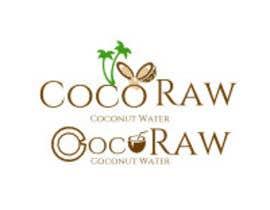 "e1sales tarafından Design a Logo for a coconut water company called ""Coco Raw"" için no 1"