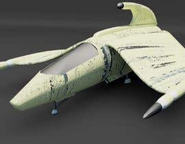 nº 7 pour Do some 3D Modelling for Video Game - Space Fighter par Bjohen