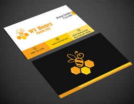 Nro 24 kilpailuun I need a busines card designed around or with our company logo.  We have a local bee business. käyttäjältä Warna86