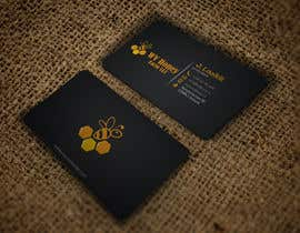 Nro 44 kilpailuun I need a busines card designed around or with our company logo.  We have a local bee business. käyttäjältä HD12345