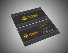 Nro 17 kilpailuun I need a busines card designed around or with our company logo.  We have a local bee business. käyttäjältä kmdesign44