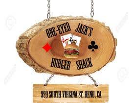 CyberSurgeon tarafından Design a Logo for One-Eyed Jack's Burger Shack için no 1