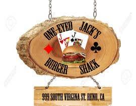 CyberSurgeon tarafından Design a Logo for One-Eyed Jack's Burger Shack için no 7