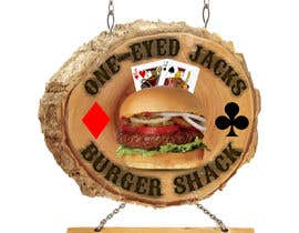 Metalhead750 tarafından Design a Logo for One-Eyed Jack's Burger Shack için no 4