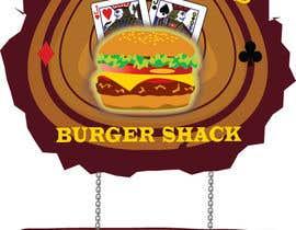 leahsilecchia tarafından Design a Logo for One-Eyed Jack's Burger Shack için no 12