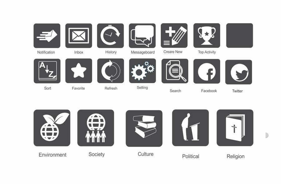 #7 for Design some Icons for my website! by mgliviu