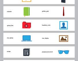 #12 for Flat Icon set by hijibijitech