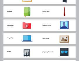 #14 for Flat Icon set by hijibijitech