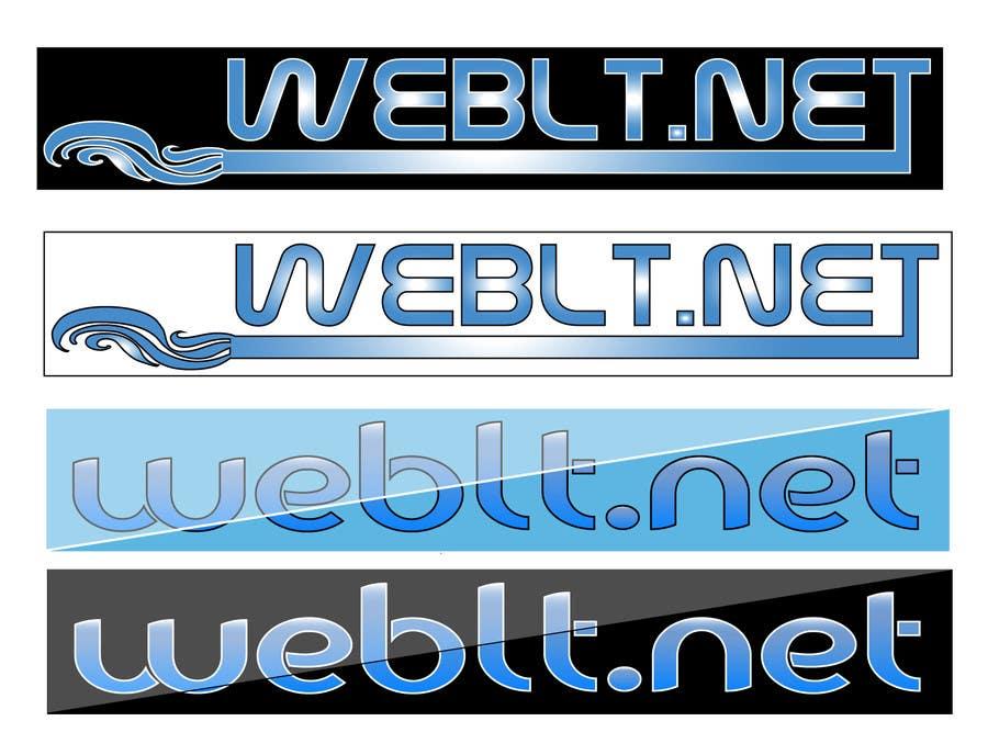 Penyertaan Peraduan #70 untuk Logo for the website WebLT.net
