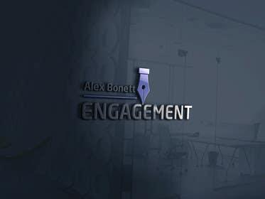 "desingtac tarafından Logo for - Alex Bonett - Speaker Author Mentor -(My Big Word is) ""Engagement"" için no 17"