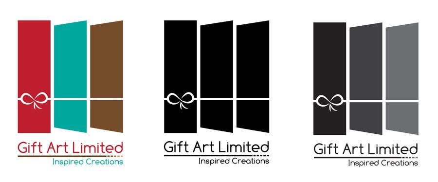 Design a Logo for Gift Art Limited için 13 numaralı Yarışma Girdisi