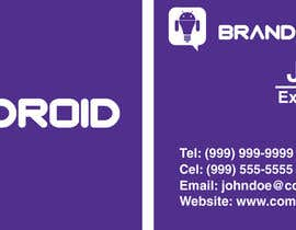 nº 12 pour Design some Business Cards & Email Signatures for Brandroid par andresc88