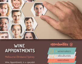 #16 untuk Design an Advertisement for recruitment into the wine industry oleh shahriarlancer