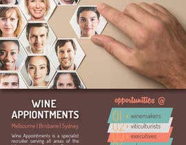 #19 untuk Design an Advertisement for recruitment into the wine industry oleh shahriarlancer