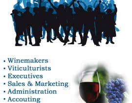 #4 for Design an Advertisement for recruitment into the wine industry by Toy20